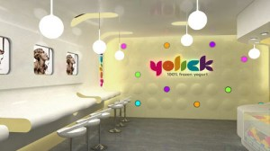 Yogurt Shop Design and Branding