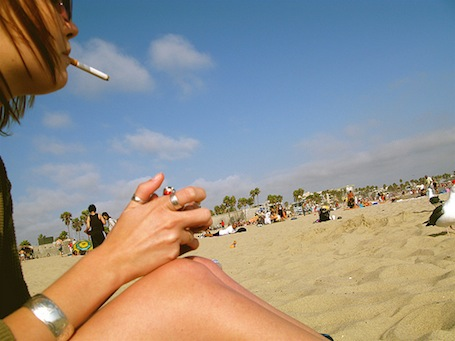 smoking-on-the-beach1