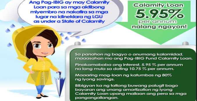 pag-ibig fund calamity loan