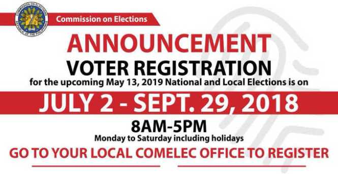 comelec voter registration