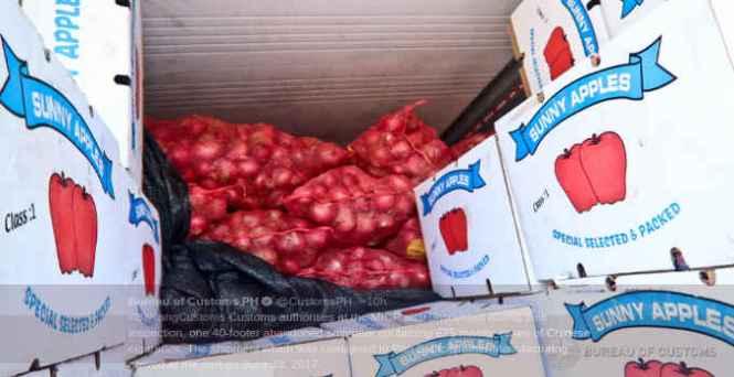 smuggled onions