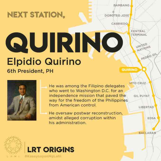 quirino lrt station map