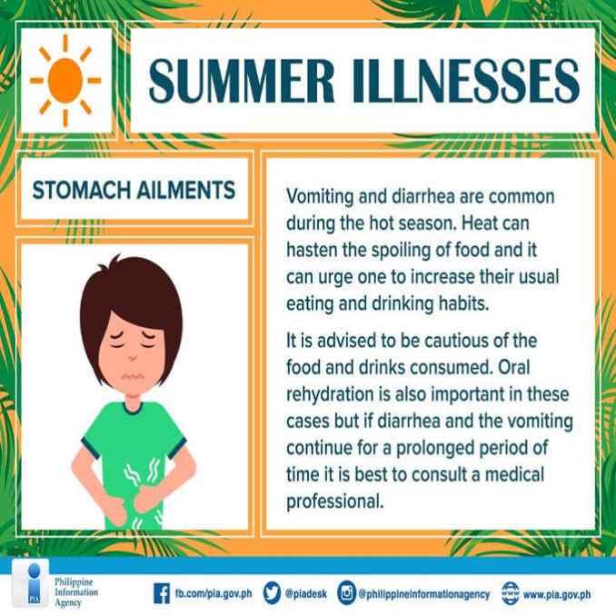 stomach ailments and diarrhea