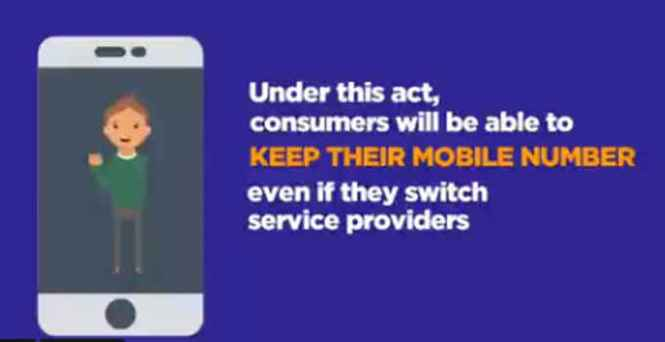 ra 11202 mobile number portability act