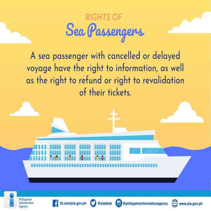 first right of sea passengers