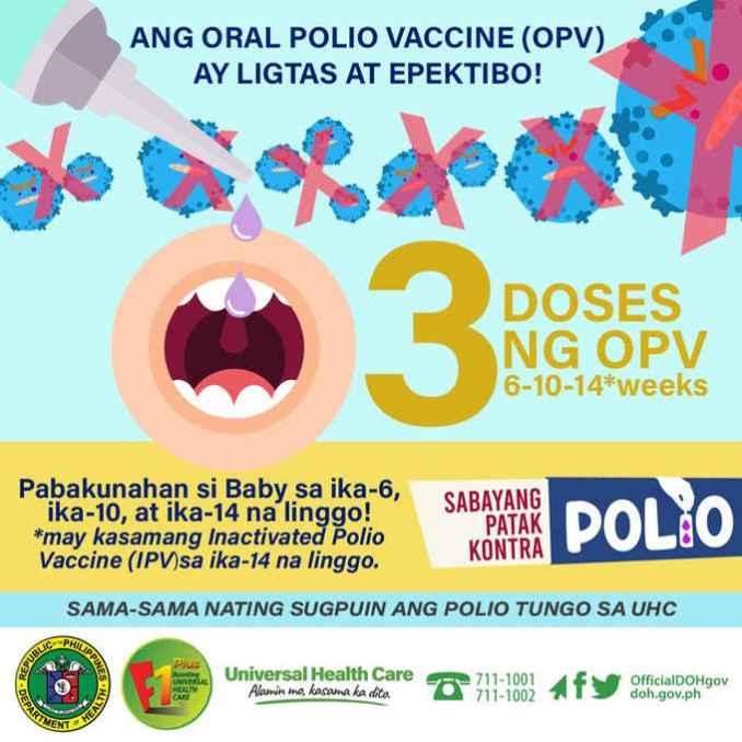 sabayang patakkontra polio