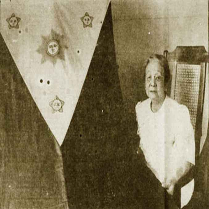 Principal maker of the first Philippine National Flag