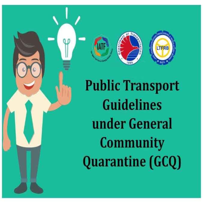 public transport guidelines