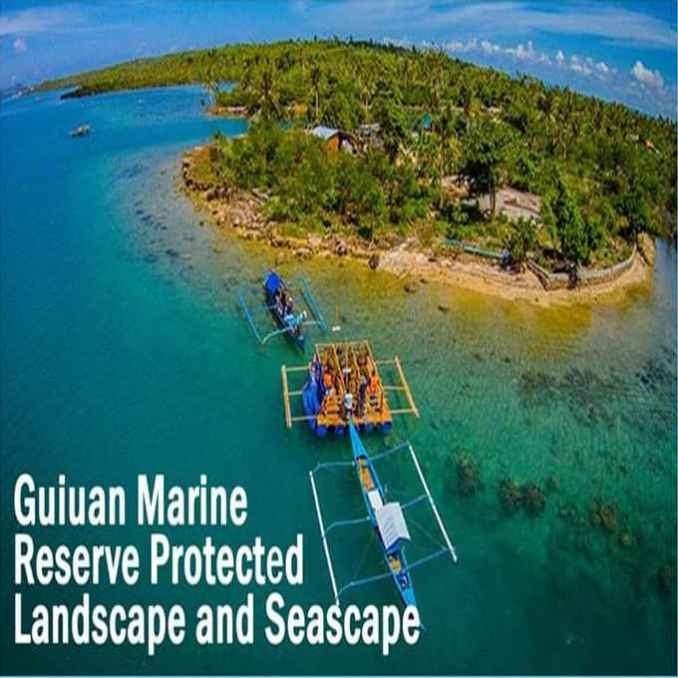 guiuan marine reserve protected lanscape and seascape