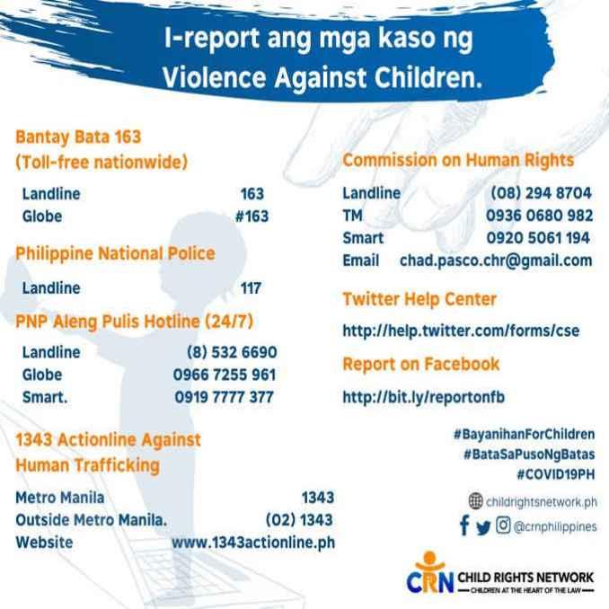 violence against children hotline