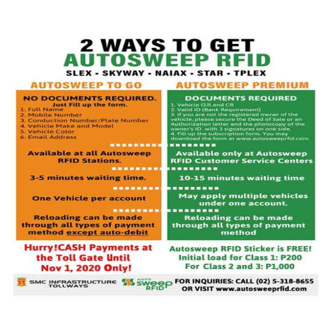 where to get autosweep rfid