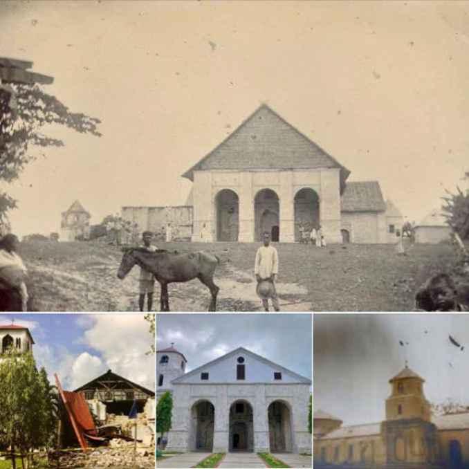 The sto. niño parish church bohol