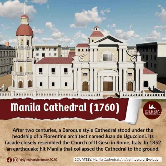 manila cathedral 1760