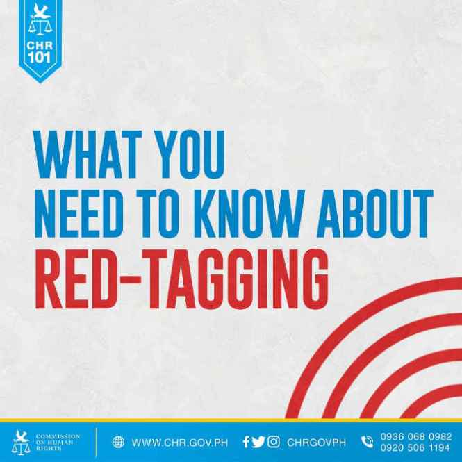 red-tagging