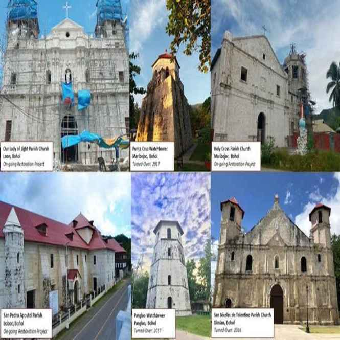 heritage churches and structures