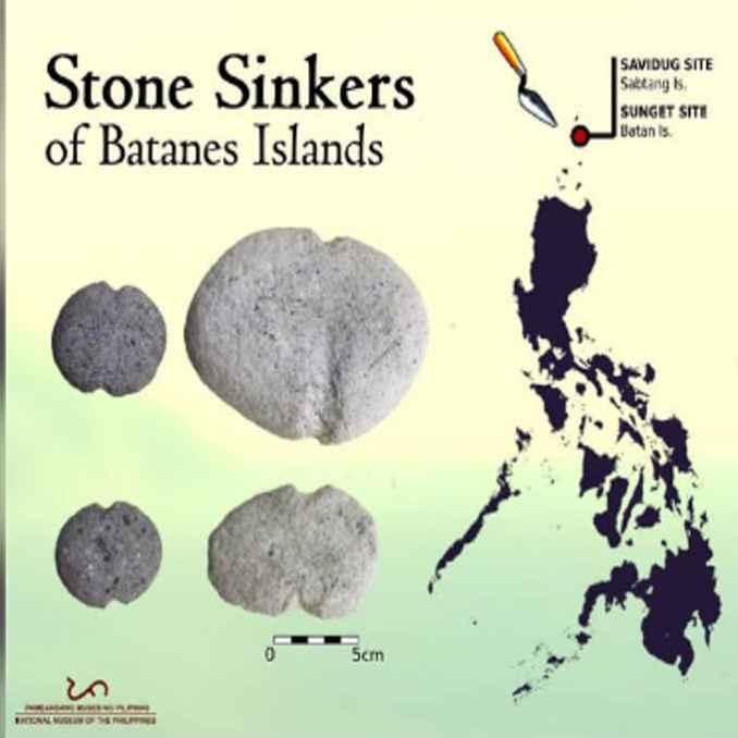 stone sinkers of batanes islands