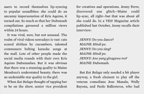 Maine Mendoza on Esquire PH
