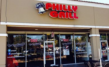 Philly Grill Restaurant Hypoluxo Store Front