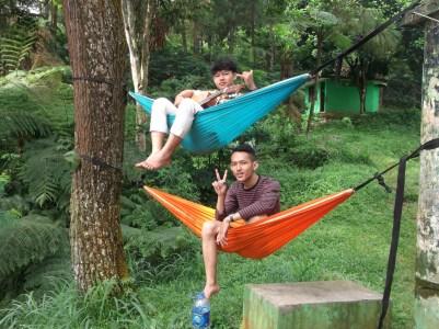Double-decker hammock