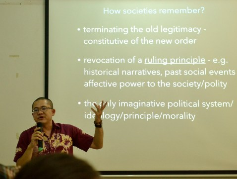 An interesting lecture on Binay and Poe