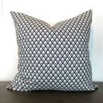 Rafacz Navy Print Pillow The Phinery
