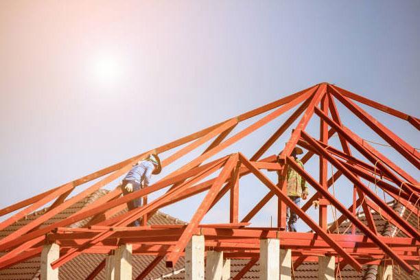 Thép hộp làm khung mái nhà