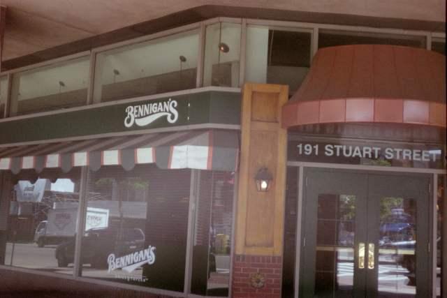 Bennigans Restaurant, Boston MA 2005