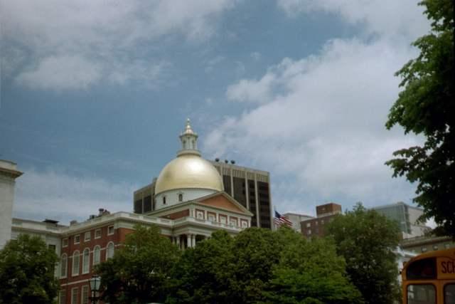 Boston, MA Capitol Building 2005
