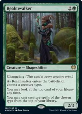 Realmwalker – A Magic the Gathering Card Review
