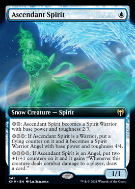 Ascendant Spirit – A Magic the Gathering Card Review