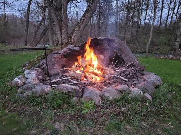 Backyard Campfire (Photo)