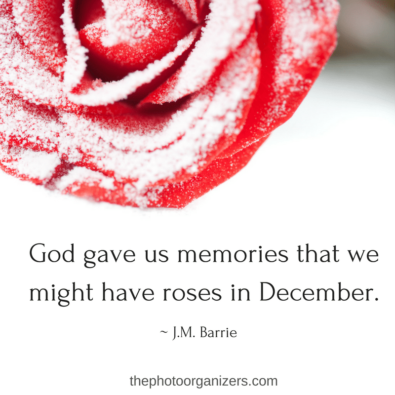 Recalling Old Memories Quotes: Photo Organizers: Quotes Of The Month, December 2016