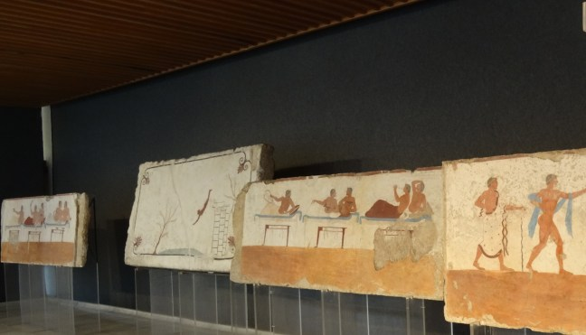 Decorations from Tomb of Diver in Paestum