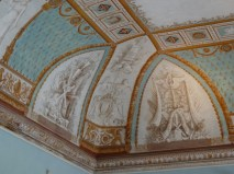 Ceiling detail in the Palazzo Reale di Portici