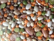 The mix for Zuppa Flegrea