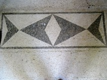 Floor mosaic from the Villa San Marco in Stabiae