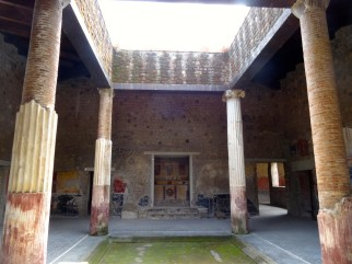 The atrium of the Villa San Marco in Stabiae