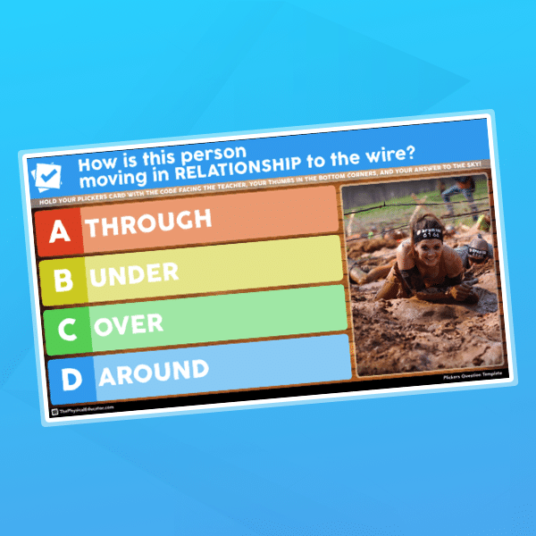 Plickers Question Template Thumbnail
