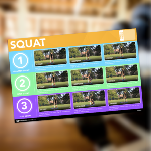 Squat Fitness Station Poster