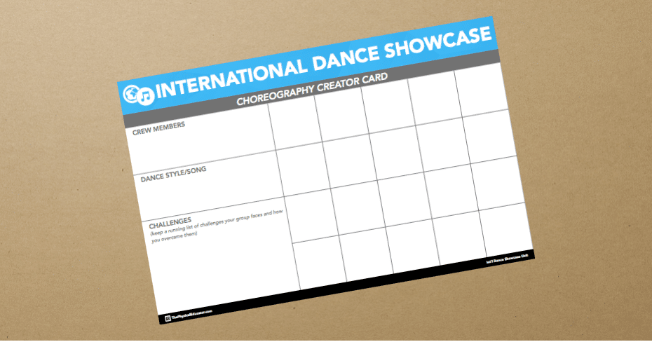 Choreography Creator Card Assessment Banner
