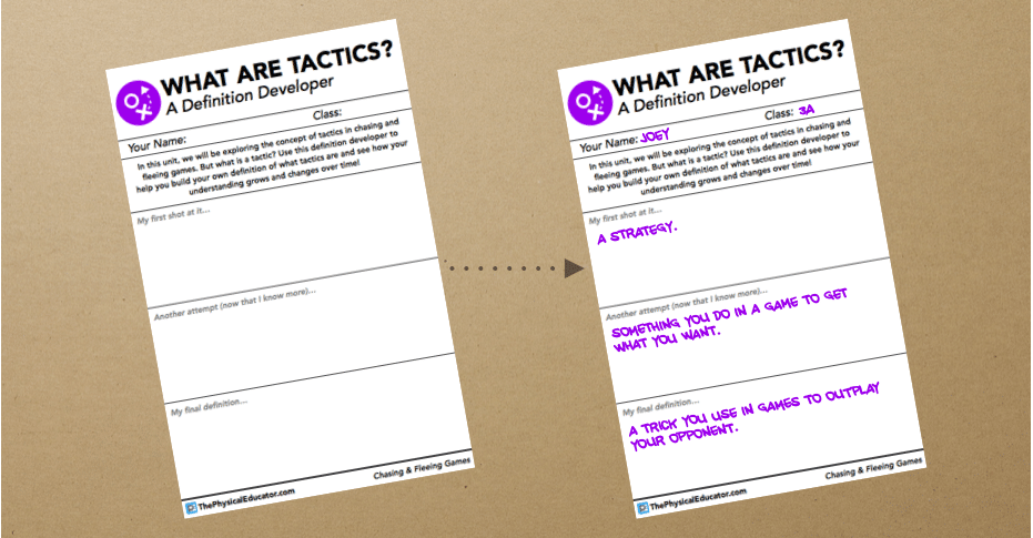 Tactic Definition Developer Preview
