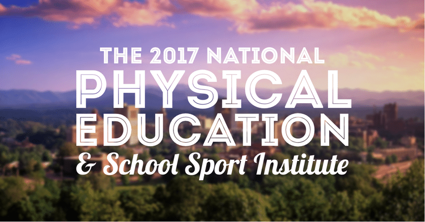 The 2017 National PE Institute