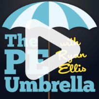 The PE Umbrella Podcast Artwork