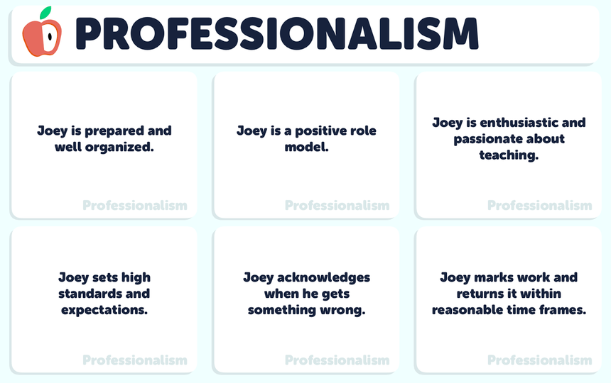 Professionalism Questions