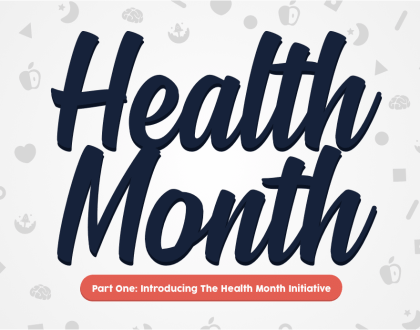 Health Month: Celebrating Health Within The School Community