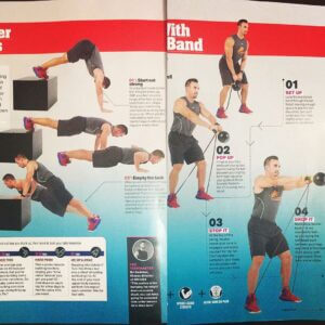 Men's Health workout by Coach Nic