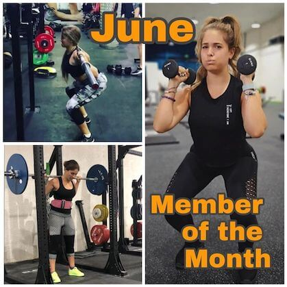 JUNE'S MEMBER OF THE MONTH
