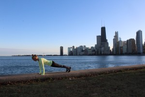 PT Chicago Lake Michigan Plank