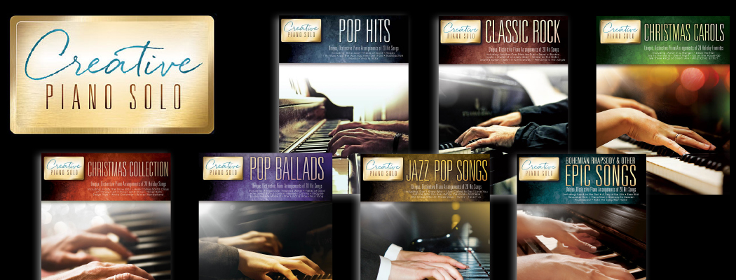 As Reviewed by you    Creative Piano solos from Hal Leonard - The