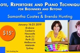 Rote Reading and Piano Technique: For Beginners and Beyond